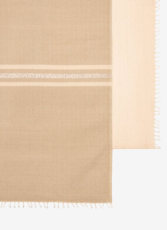 WHITE MIX SILK/WOOL Scarves - Bally