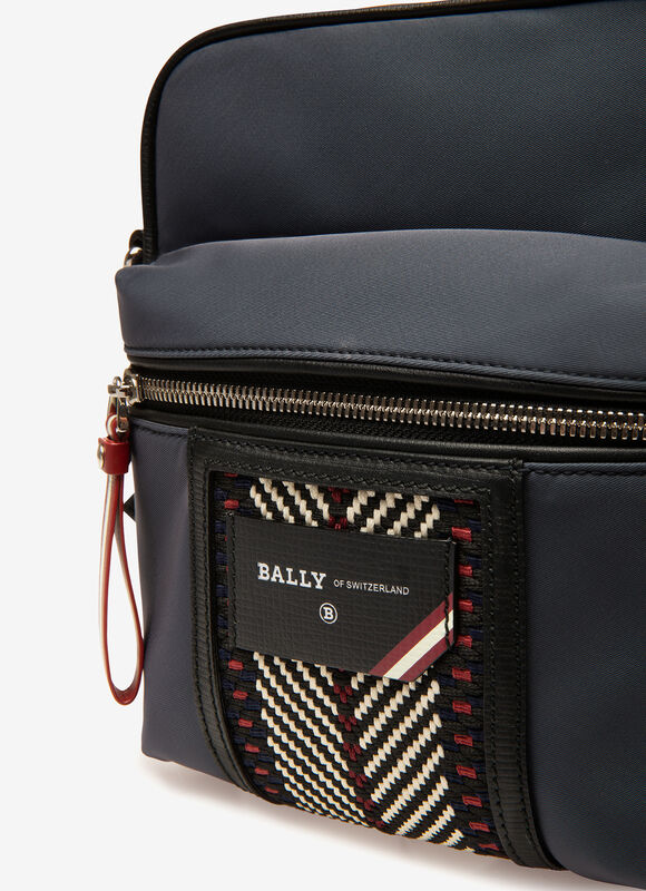 BLUE NYLON Messenger Bags - Bally