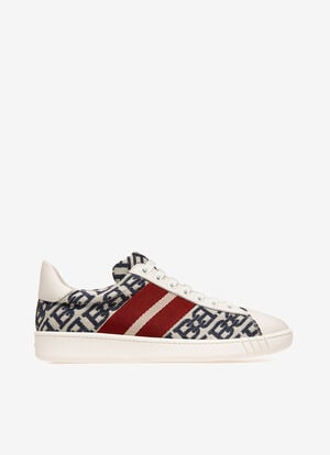 NEUTRAL MIX POLY./COTTON Sneakers - Bally