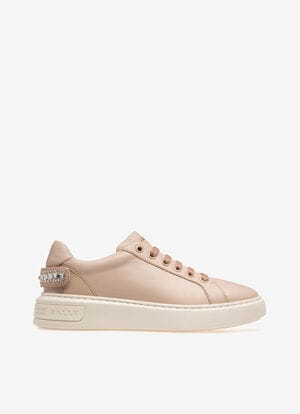 PINK CALF Sneakers - Bally